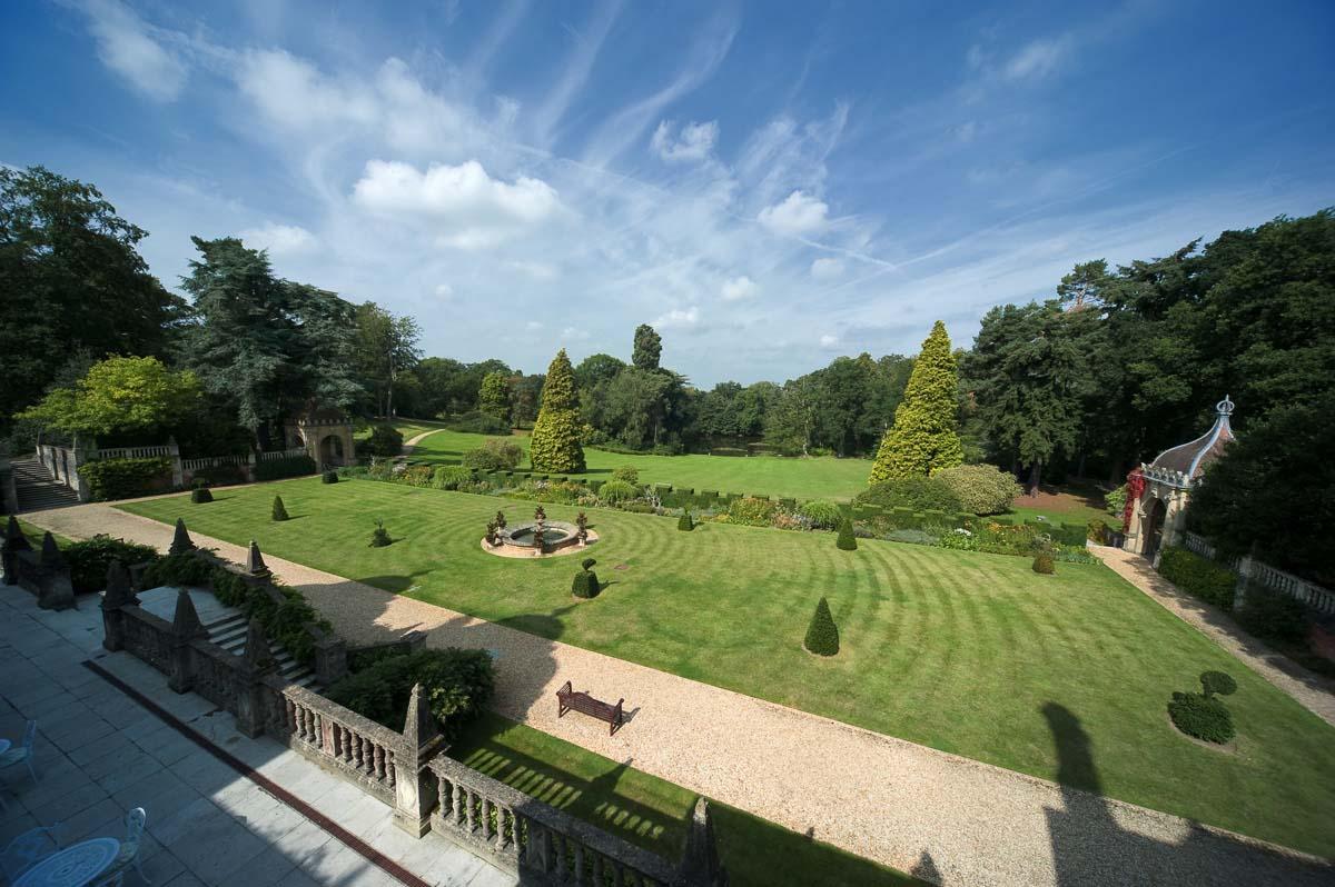Tylney Hall Wedding Photography - Italian Gardens