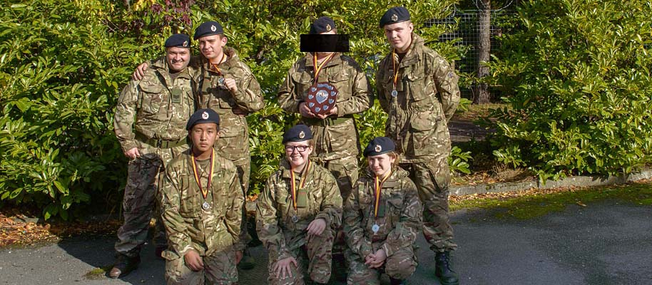 Withdrawal of support for Army Cadet Force