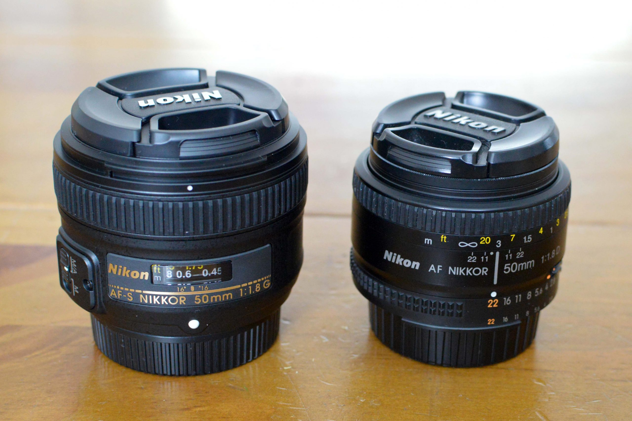 Nikon 50mm 1.8D vs Nikon 50mm 1.8G Review
