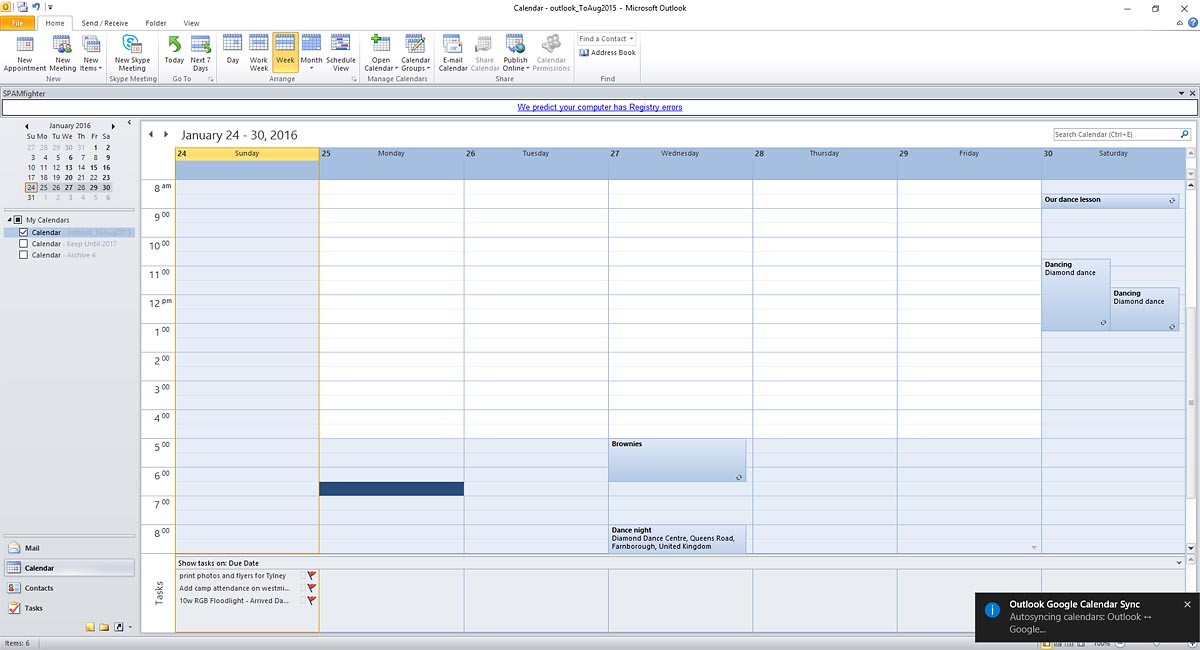 Outlook Google Calendar Sync