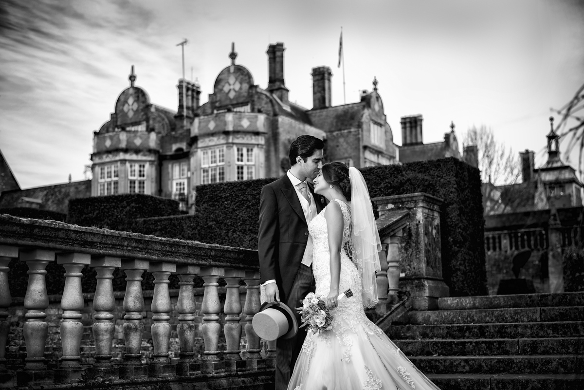 Winter Wedding Tylney Hall - Erica & Alex